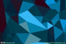 蓝色方块背景图片