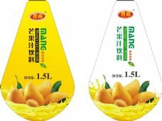 芒果汁 标签