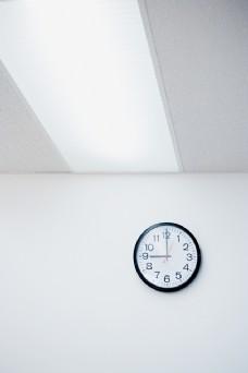 墙上挂着时钟图片