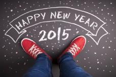 人物脚下的2015图片