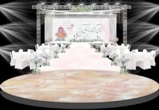 婚礼现场效果图