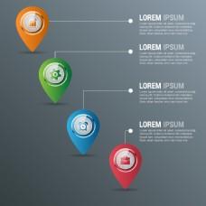 商务信息图表