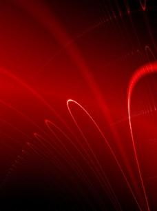 红色科技底纹