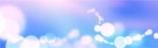 蓝色梦幻灯光背景