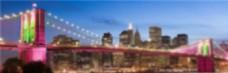 外国建筑大桥风景banner