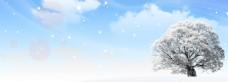 雪天背景素材