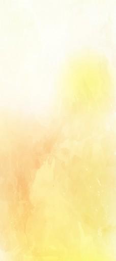 黄色水彩背景