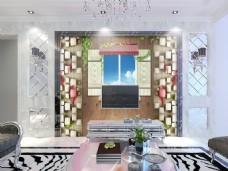 装饰元素背景墙电视墙
