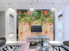 花藤装饰背景墙