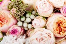 婚礼鲜花背景图片