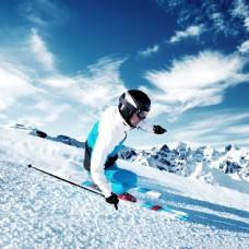 滑雪运动图片