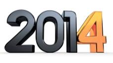 2014立体金属字图片