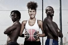 篮球运动员摄影图片
