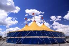 马戏团戏棚图片