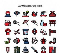 日本文化图标
