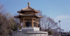 上海七宝寺亭子古风建筑
