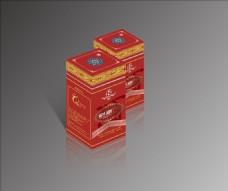 包装盒效果图