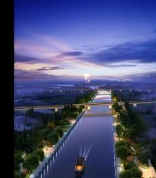 城市景观设计效果图