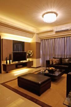 酒店客厅实景图片