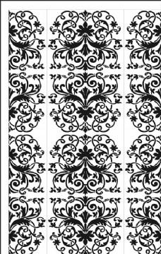 矢量欧式花纹背景图案