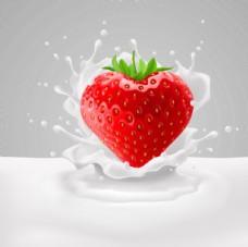 动感牛奶水果