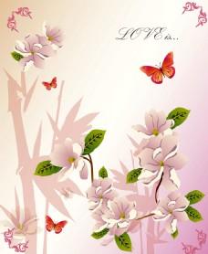 简约抽象花卉装饰画