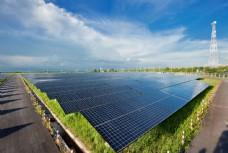 太陽能發電廠圖片