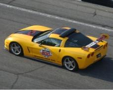 黃色賽車圖片