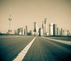 上海城市风光图片