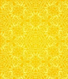 金色花纹背景