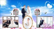 婚纱PPT模板素材