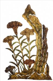 皮影戏 花卉