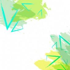 2017创意底纹三角形元素H5背景