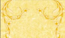 大理石紋歐式花朵背景墻