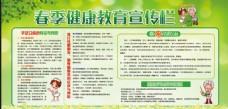 春季健康宣传栏
