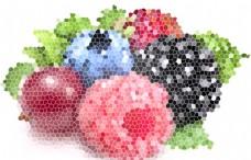 色彩构成 色块组合 花纹 底纹