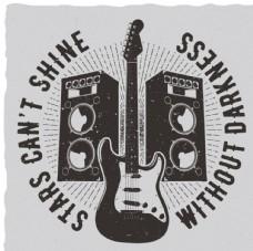 吉他创意海报