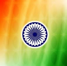 印度的七彩背景